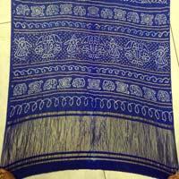 Gaji Bandhani Sarees Royal Blue