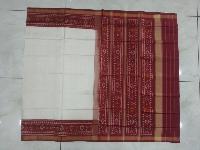 Rajkot Patola Red And White Saree