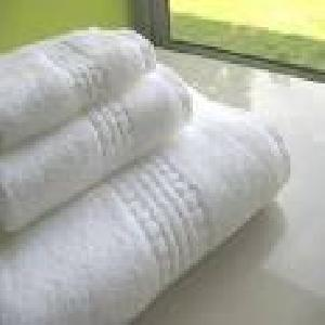 475 Gms Bleached Terry Bath Towel