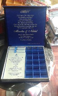 wedding invitation card boxes