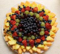 Fruits Gift Plates