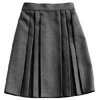 Black Knne Length Skirt