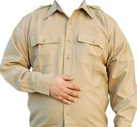 Khaki Full Sleeve Shirt