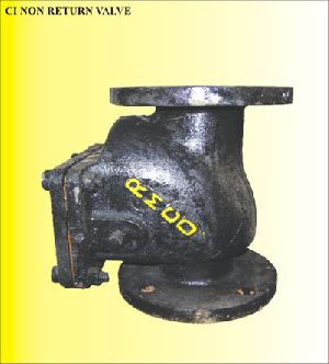 Non Return ( Reflux ) Valve