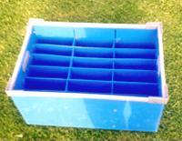 Partitioned Large Crate