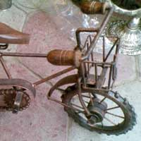 Wrought Iron Bicycle