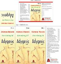 Adygesic Pain Relief Oil