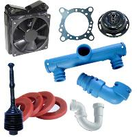 Industrial Plastic Mould Components