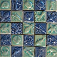 Handmade Glass Mosaic Tiles