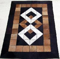 Handmade Leather Rug