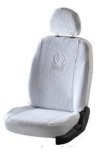 Super Soft Towel White Seat Covers