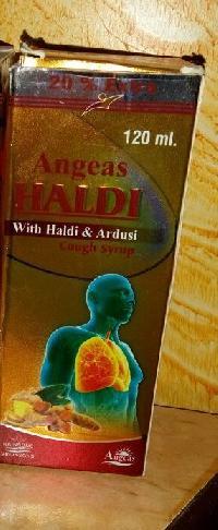Angeas Haldi Cough Syrup