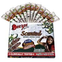 Dezee Scented Arabic Henna Paste Cone (white Color)