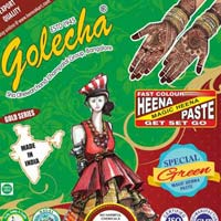 Golecha Sehnaaz Instant Henna Paste Cone (green Color)