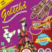 Golecha Sehnaaz Instant Henna Paste Cone (voilet Color)