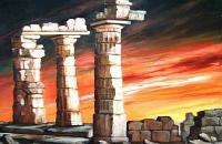 Pillar Stone, Evening Sky