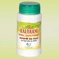 Kalyaani Herbal Tooth Powder