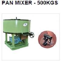 Pan Mixer Machine (500KGS)