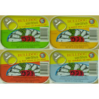 Bull Dog Brand Canned Sardines