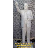 Dr B R Ambedkar White Statue