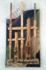 Angklung Magnetic Refrigerator Ornaments