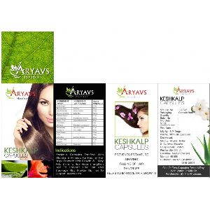 Aryavs Herbal Keshkalp Capsules