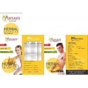 Aryavs Herbal The Joy Of Weight Loss Capsules