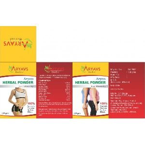 Aryavs Herbal Weight Loss Powder