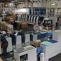 Package Printing Plant Installation