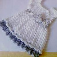 Crochet Ladies Frocks
