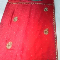 Designer Full Handwork Party Wear Sarees