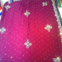 Designer Handwork Sarees