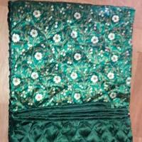 Jaipuri Green Print Double Bedding Quilt S