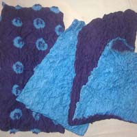 Skye Blue Pure GC Cotton Printed Chiffon Blue Dupatta Punjabi Suits