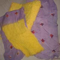 Yellow Purple Pure GC Cotton Printed Chiffon Dupatta Punjabi Suits
