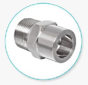 Stainless Steel Sanitary Tube X Pipe Adapter