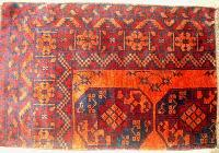 01 Hand Knotted Bokhara Rug
