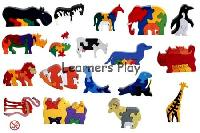 Wooden Jigsaw Puzzles Animals