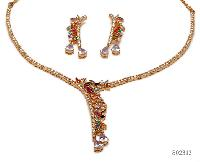 Silver Necklace Sets S - 02313