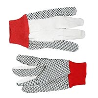 Dotted Gloves