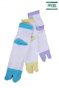 Ankle Terry Toe Socks