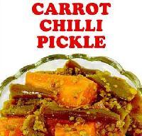 Carrot Chilli Pickle