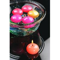Button Ball Floating Candles