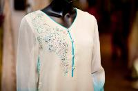 Embroidered Beaded Cotton Kurtas