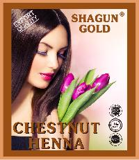 Chemical Free Chestnut Hair Color
