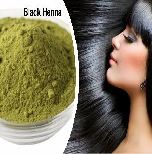 Natural Black Henna Hair Color