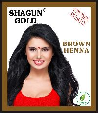 Shagun Gold Herbal Brown Henna