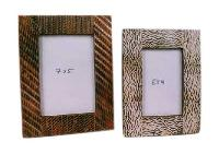Horn Inlay Photo Frame