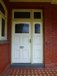 LEADLIGHT FRONT DOOR ENTRANCE UNIT