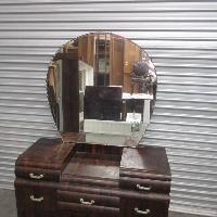 Original Timber Art Deco Dresser